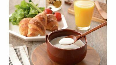 美味しく手軽に。豆乳スープでコラーゲン補給