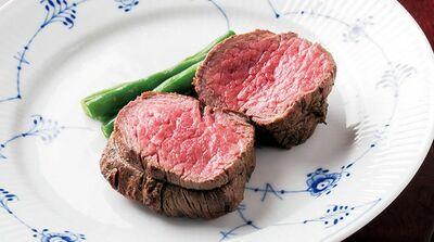 「銀座 肉 吉平」熟成赤身肉のステーキの余韻を味わって