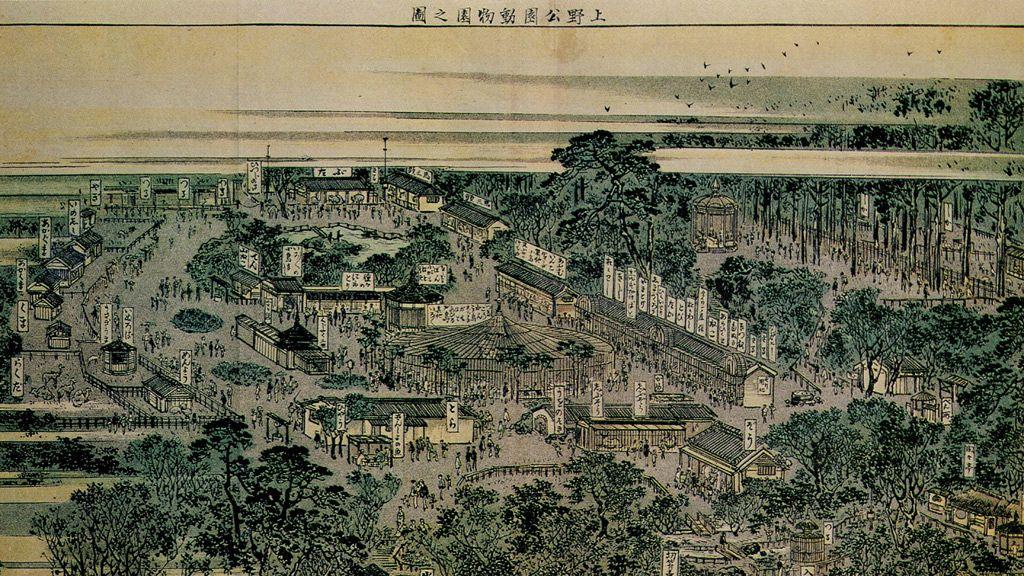 日本初の上野動物園にゾウやキリンが来たのはいつ? 帝都を震撼させた「クロヒョウ脱走事件」も