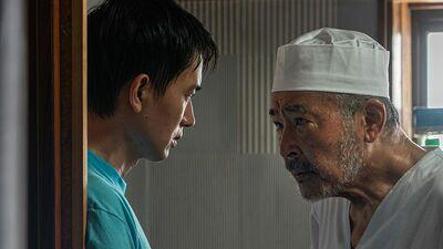 【cinema】藤竜也とルー・ユーライが好演。不法滞在の中国人青年と蕎麦店主との交流
