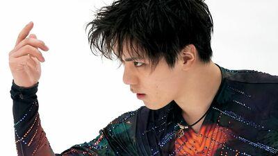 宇野昌磨・表情をアップにして切り取りたくなる独特の空気感〈氷上に舞う!・1〉