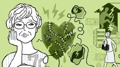 顔面神経麻痺、大腸がん、胃がん、目の異常…不調の要因は夫へのストレス