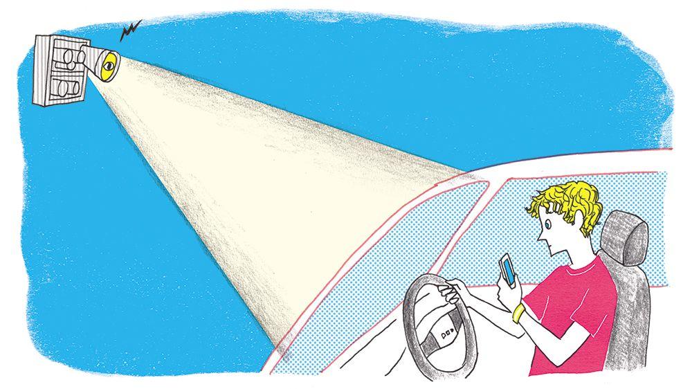 「ながらスマホ」ドライバーをAIで監視! オーストラリアで世界初の試み