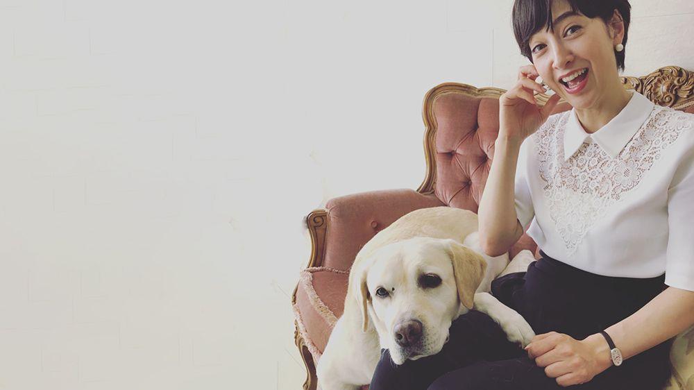 滝川クリステルが進次郎とともに過ごす、保護犬のアリスとは