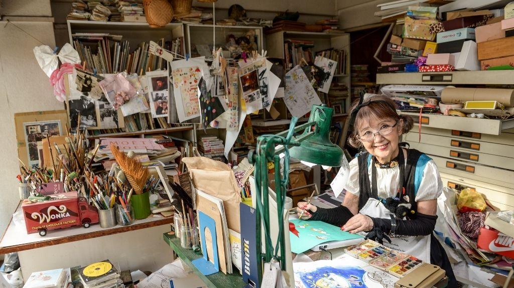 80歳現役イラストレーター・田村セツコのハッピーシングルライフ「紙とえんぴつがあれば幸せ」