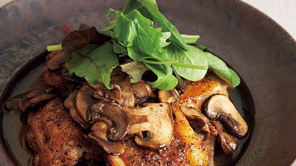 【レシピ】賢いお酢レシピ「鶏肉のバルサミコソテー」の作り方