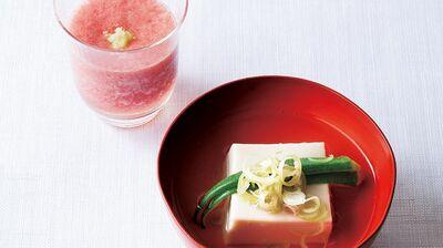 【レシピ】だしたっぷり本格和食。「トマトのすり流し」「ごま豆腐椀」の作り方〈初夏に愉しむ〉