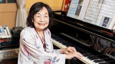 100歳のピアニスト・室井摩耶子「食事は100gの牛フィレステーキを。100歳だからこそ出せるピアニシモがある」