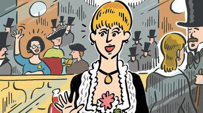 ジェーン・スー「バーメイドは心ここにあらず。絵の中の人間模様」
