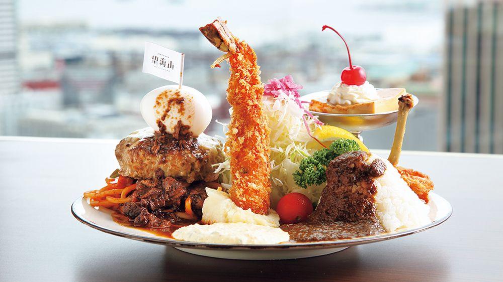 【おすすめランチ】お子様ランチの大人版! 好きなもの、食べたいものをワンプレートに ~神戸望海山