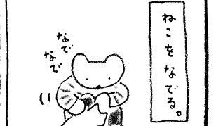 「火曜日のくま子さん」猫はコミュニケーションのプロ