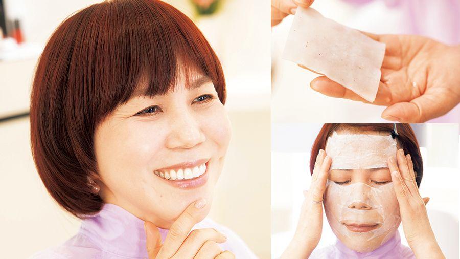 【山本浩未】お手頃価格な化粧水でOK! 今日から始められるローションパック〈50代からの化粧水講座〉