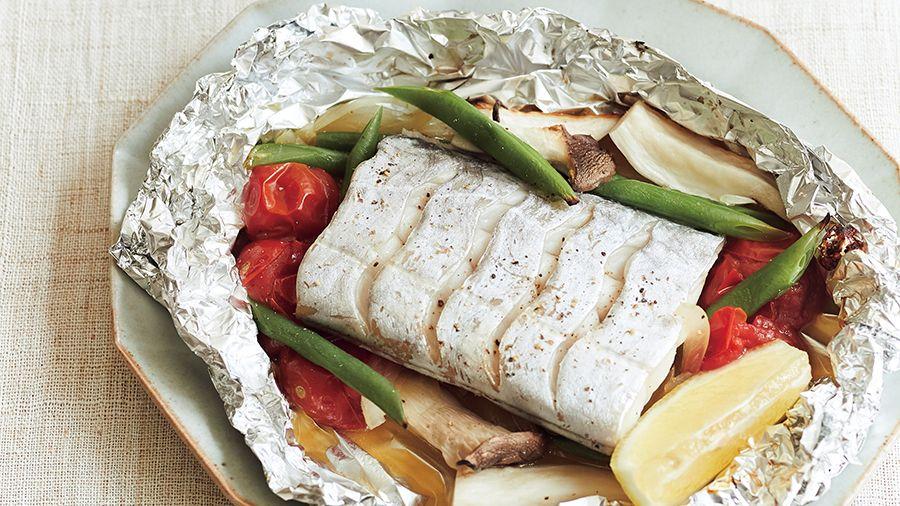 【レシピ】<免疫力を高める>ホイルで包んで焼くだけ「太刀魚の包み焼き」の作り方