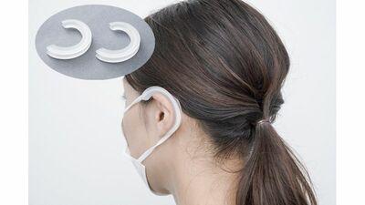 マスクを着けた時の耳の裏の痛みを解消