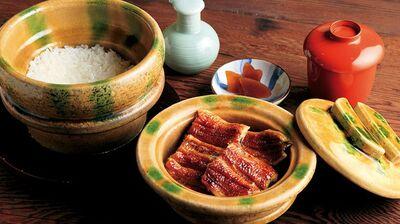 「大國屋鰻兵衛」炭火焼きの鰻を京の風情とともに