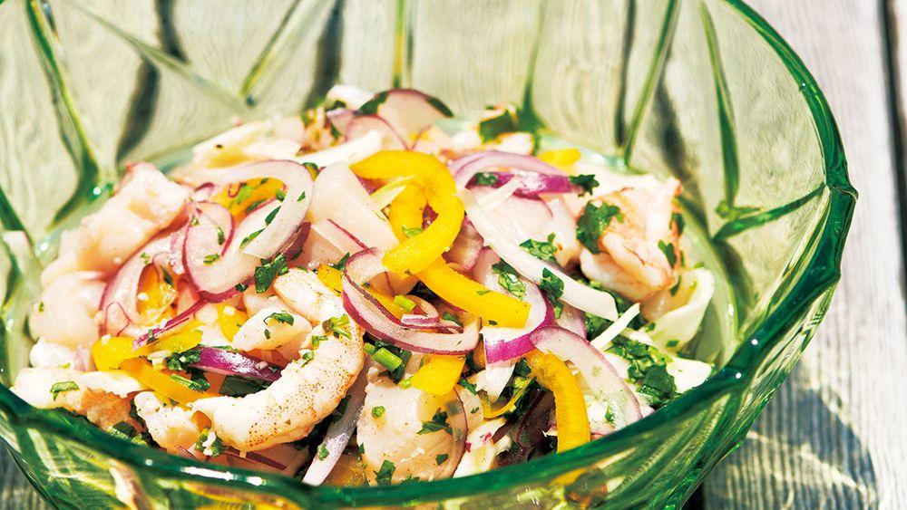 【レシピ】暑い夏こそメキシカンランチ! 魚介マリネ料理「セビーチェ」の作り方